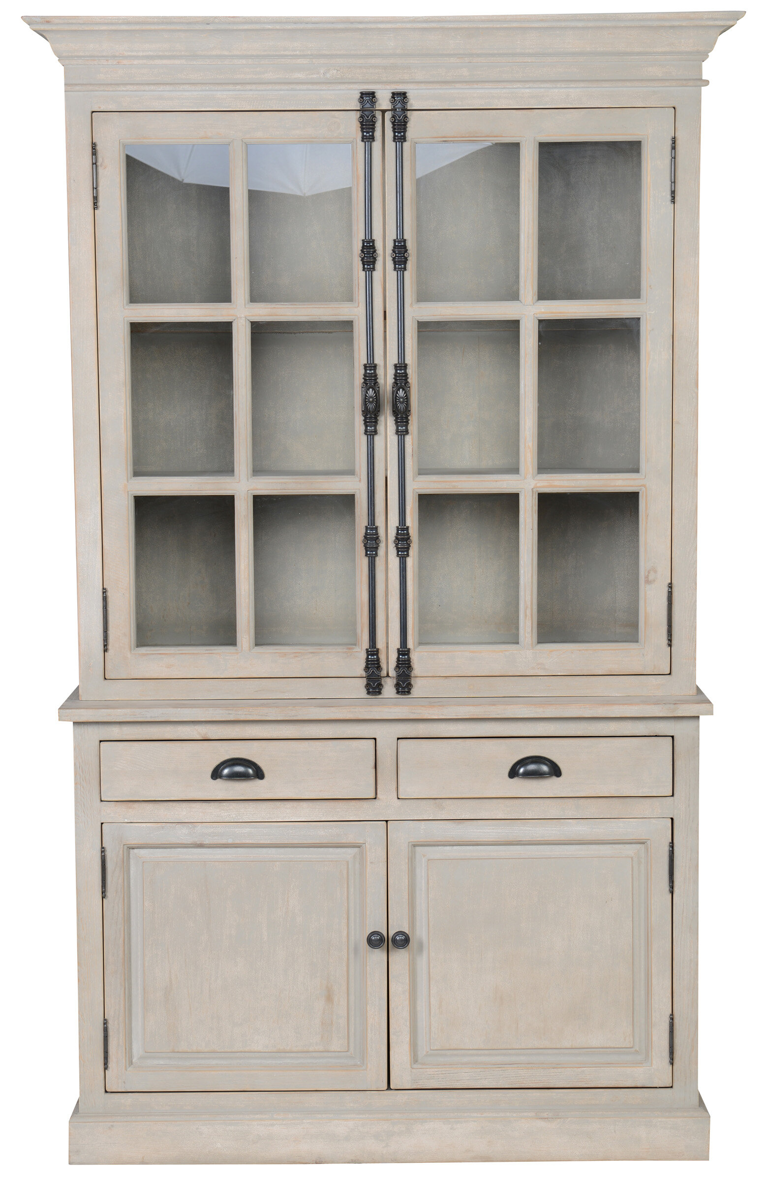 cabinet shabby direct grey glazed lyon bedroom tall china chic display furniture
