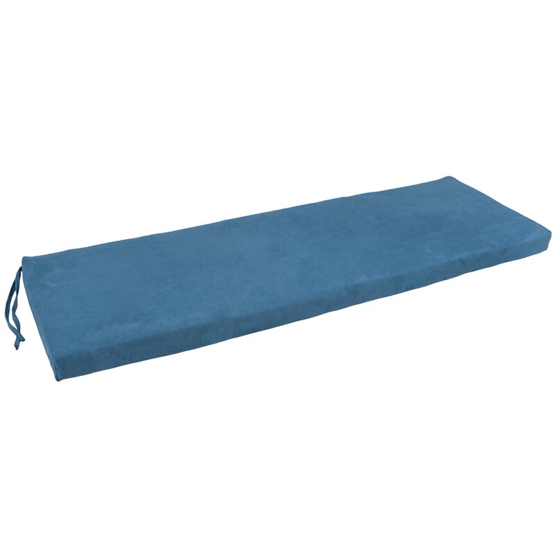 Blazing Needles Micro Suede Indoor Bench Cushion & Reviews | Wayfair