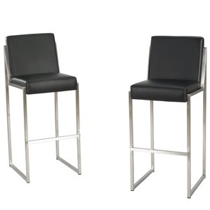 29.5  Bar Stool (Set ...  sc 1 st  AllModern & Modern Leather Bar Stools + Counter Stools | AllModern islam-shia.org