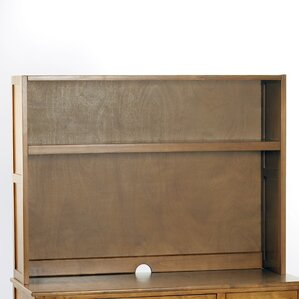 Javin Desk Hutch in Pecan by Harriet Bee