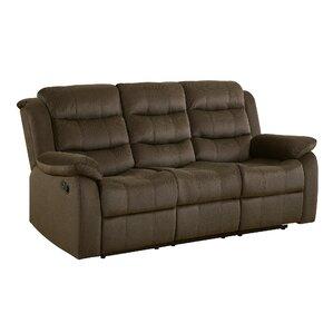 Marvelous Falls Casual Solid Reclining Sofa