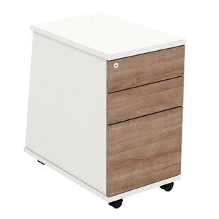 Ascend 3 Drawer Lockable Filing Cabinet