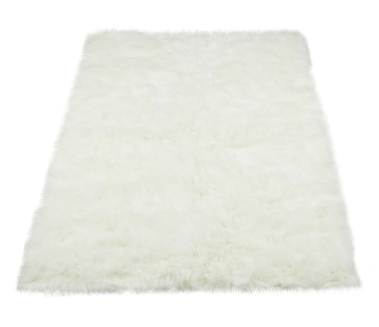 sheepskin rug ivory fur with designs faux white area fantastic