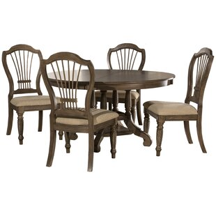 Beau Wilshire 5 Piece Extendable Dining Set. By Hillsdale Furniture
