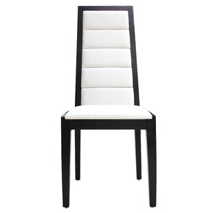 Venus Genuine Leather Upholstered Dining Chair (Set of 2)