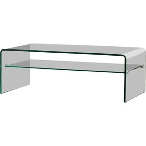 Modern Contemporary Frosted Glass Coffee Table AllModern