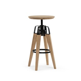 Christine Adjustable Height Bar Stool