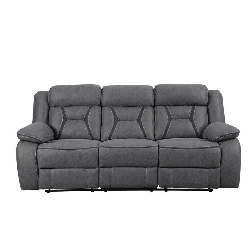 Latitude Run Reingard Motion Reclining Sofa Reviews Wayfair
