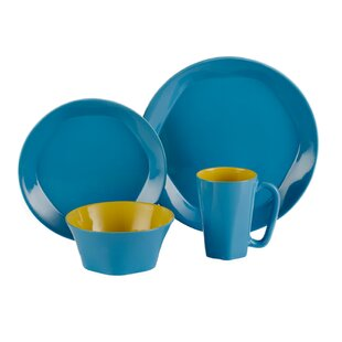 Save  sc 1 st  Wayfair & Teal Dinnerware Sets | Wayfair