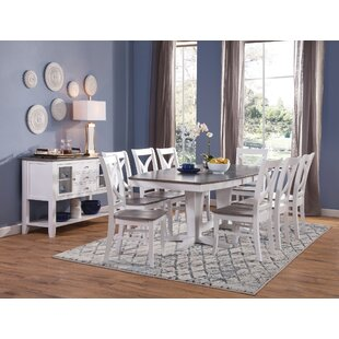 10 Piece Solid Wood Dining Set