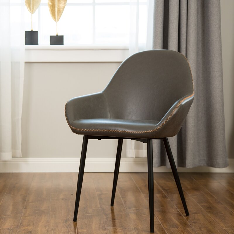 Zosia Mid Century Modern Upholstered Dining Chair ...