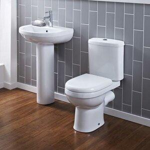 Badezimmer-Set Ivo mit Waschtischarmatur von Pre..