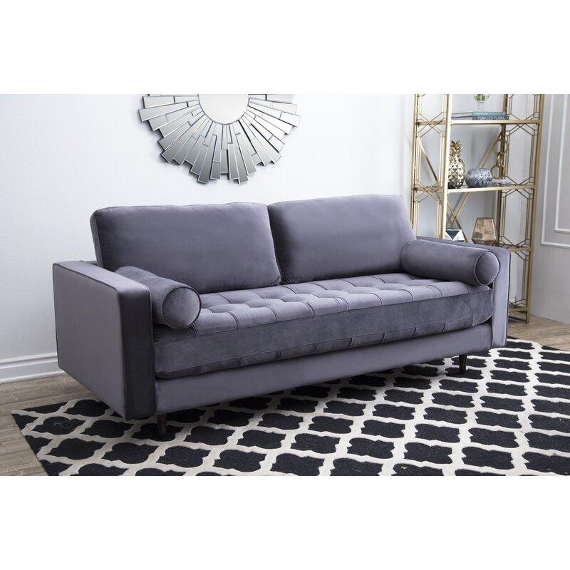 Leela Tufted Velvet Sofa