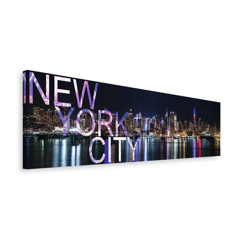 Reinders new york city in words wall art wayfair new york city in words wall art publicscrutiny Choice Image