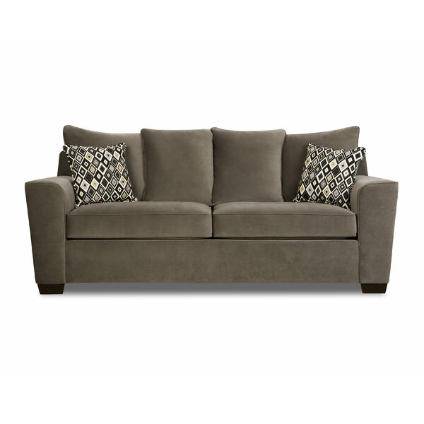 Latitude Run Scoville Queen Sleeper Sofa by Simmons Upholstery
