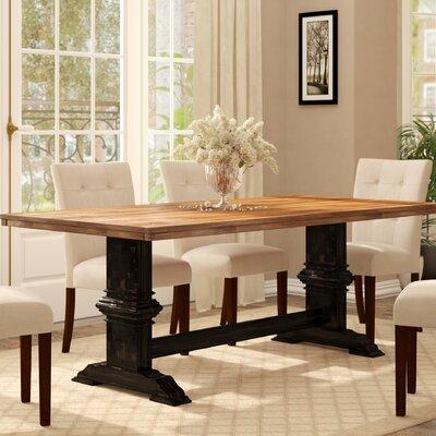Wayfair & Callisburg Solid Wood Dining Table