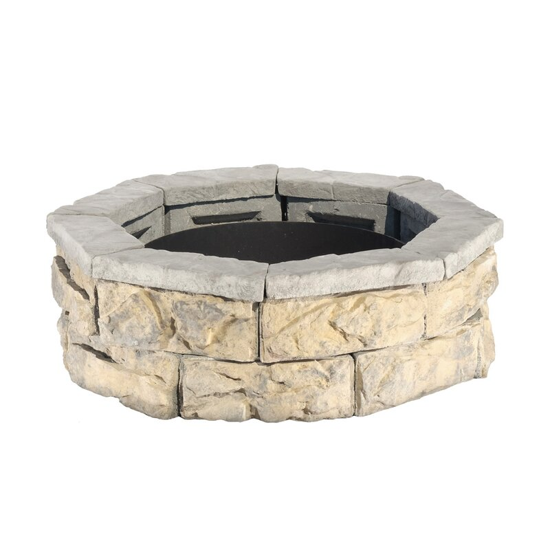 Natural Concrete Products Co Fossil Stone Wood Burning ...
