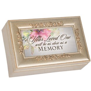 Sympathy Bereavement Music Decorative Box