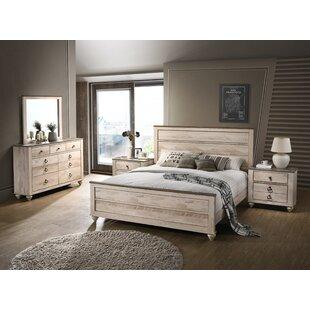 White Wood Bedroom Sets You\'ll Love | Wayfair