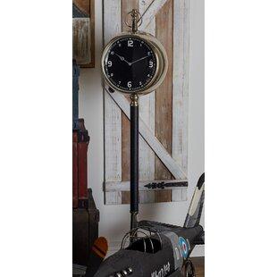Metal 53 Floor Clock