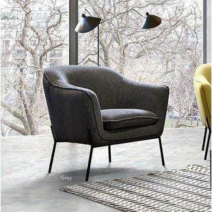 Desimone Armchair With Metal Leg