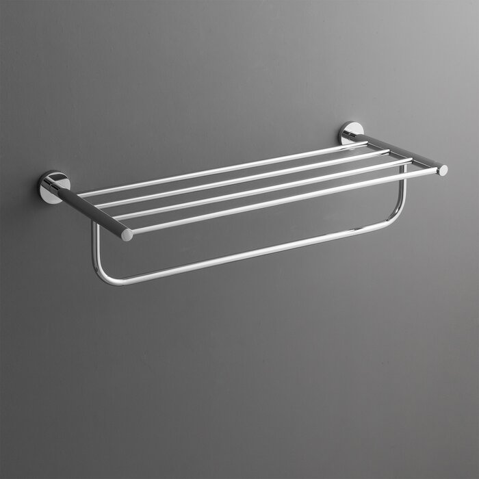 should reisa wall rack decor by how mounted swivel towel arm home