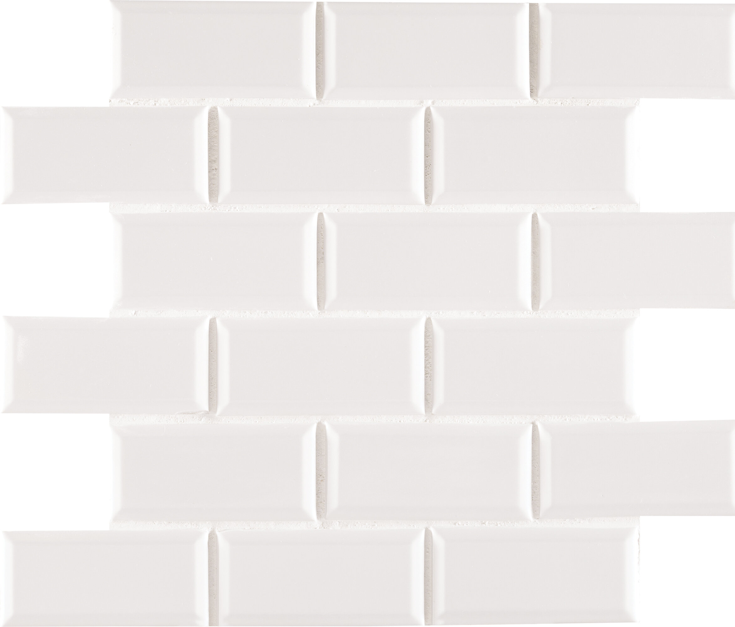 Msi staggered beveled 2 x 4 porcelain subway tile in white msi staggered beveled 2 x 4 porcelain subway tile in white reviews wayfair dailygadgetfo Gallery