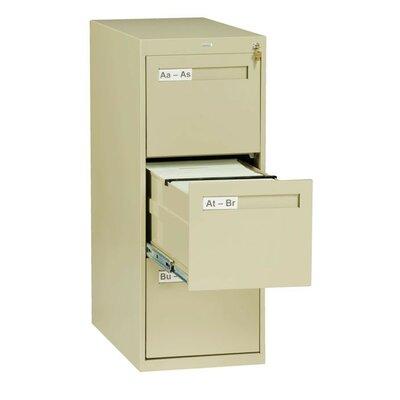 3 Drawer Vertical Letter Size File Cabinet