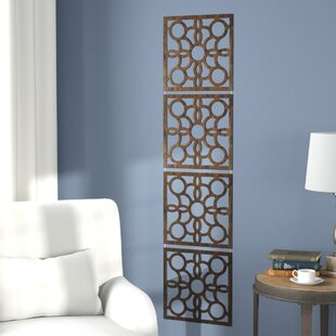 Gallipolis 4 Panel Room Divider (Set Of 4)