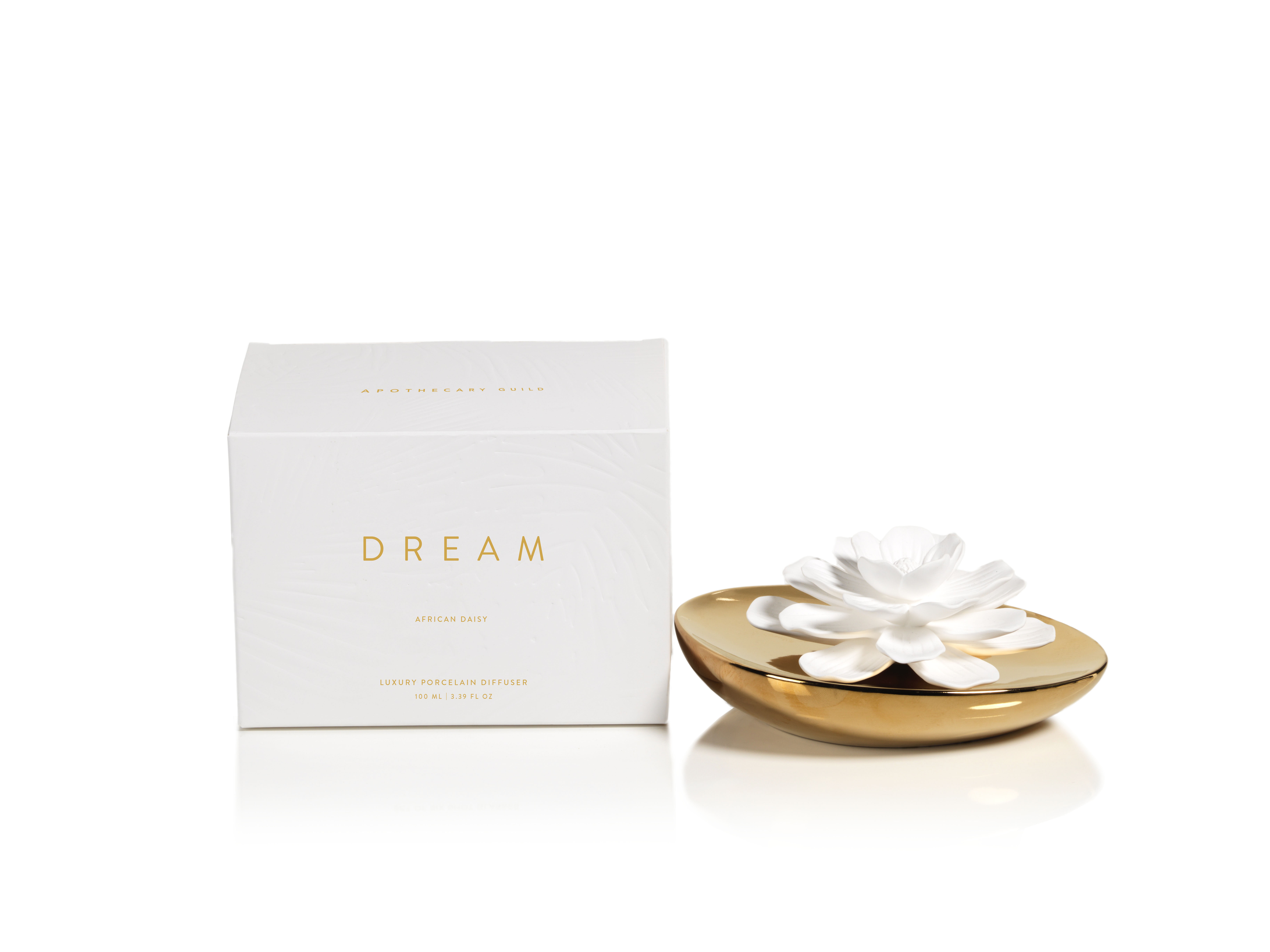 Zodax dream porcelain african daisy fragrance flower diffuser wayfair izmirmasajfo