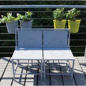 2-Sitzer Gartenbank von dCor design