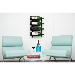 Wall Series 4 Big Bottle Wall Mounted Wine Rack