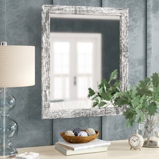 Lagrange Weathered Farmhouse Accent Wall Mirror