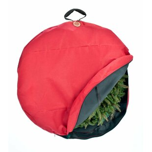 santas bags premium christmas wreath storage bag with direct suspend handle