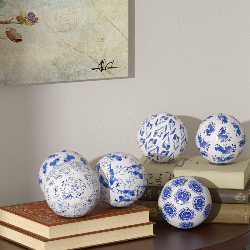 World Menagerie Oriental Design Decorative Balls Reviews Wayfair
