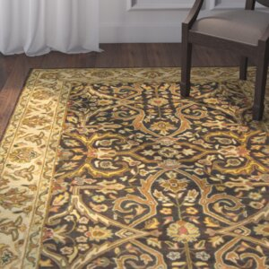 Balthrop Charcoal/Beige Area Rug