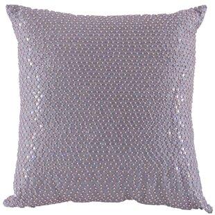 Quinn Beaded Sequin Throw Pillow