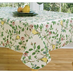 Linder 84 Oval Vinyl Tablecloth
