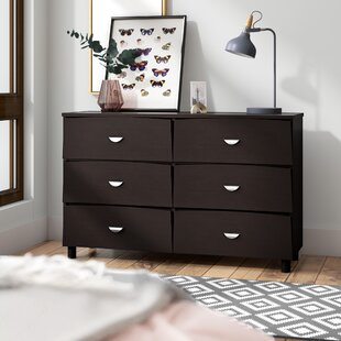 Bon Distefano Commodious 6 Drawer Double Dresser