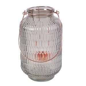 Round Glass / Iron Lantern