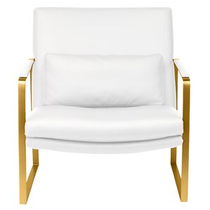 Barys Upholstered Armchair by Everly Quinn