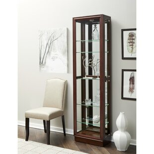 Moore Lighted Curio Cabinet