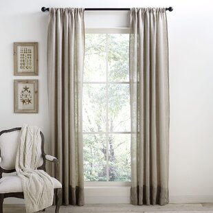 Taupe Linen Curtains