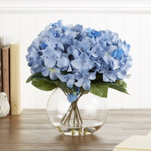 Favorite Birch Lane™ Faux Blue Hydrangea Bloom & Reviews | Wayfair KO59