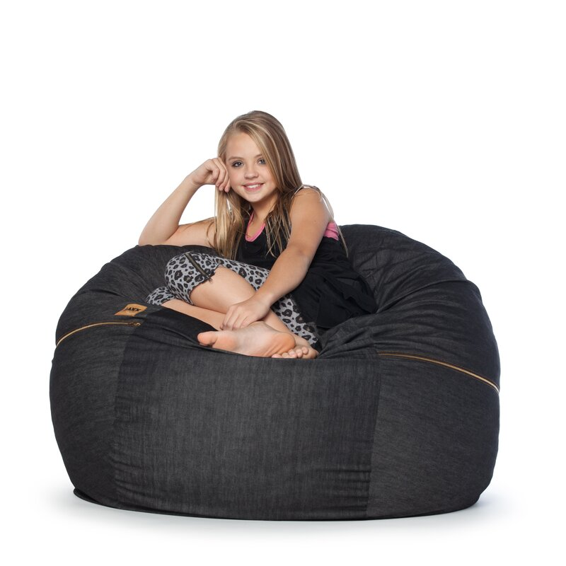 Elegant Denim 4u0027 Bean Bag Chair