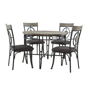 Benedetto 5 Piece Dining Set Best #1