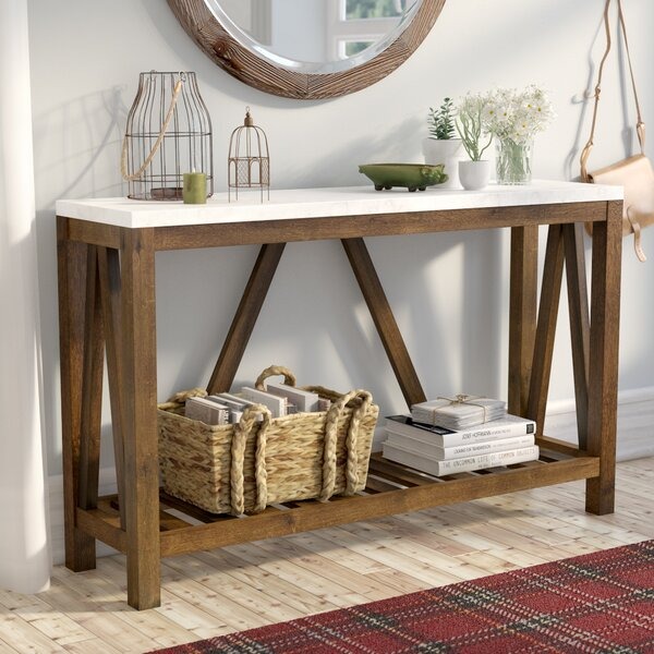 Brandy Entry Console Table Amp Reviews Birch Lane