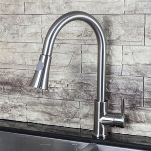 Y Decor Luxurious Single Handle Pull Down Standard Kitchen Faucet
