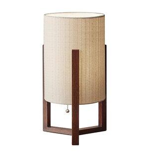 Modern contemporary wood base table lamp allmodern mackenzie 17 table lamp aloadofball Choice Image