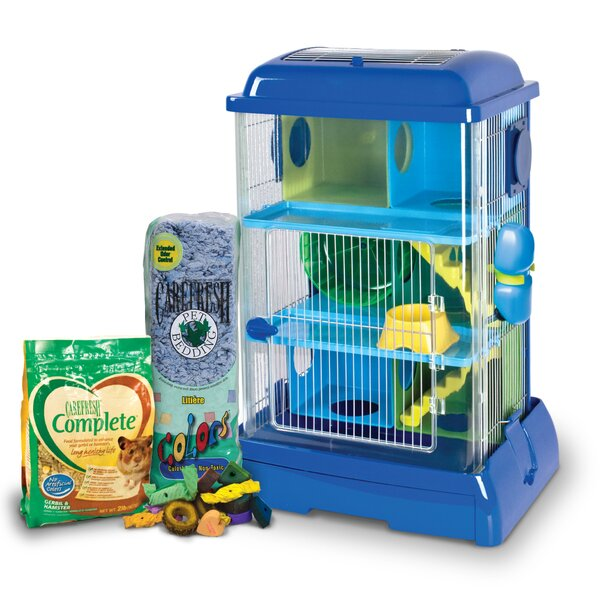 ware carefresh avatower small animal cage kit u0026 reviews wayfair